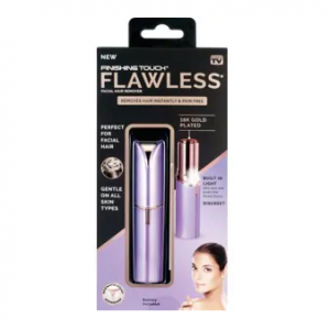 Finishing Touch Flawless Facial Hair Remover, Purple