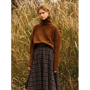 ANDERSSON BELL Unisex Cashmere Turtle Neck Sweater Atb250U Brown