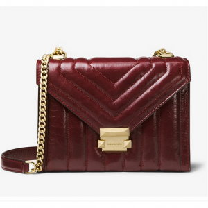 Michael Kors Whitney Large Quilted Leather Convertible ショルダーバッグ