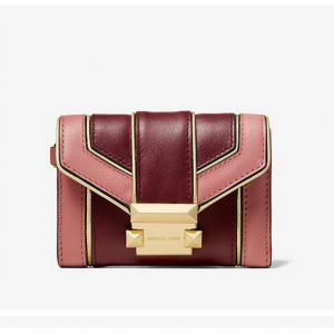 Michael Kors Whitney Small Quilted Two-Tone レザーチェーン 財布バッグ