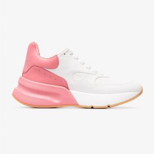 Alexander McQueen Contrast Low-Top Sneakers