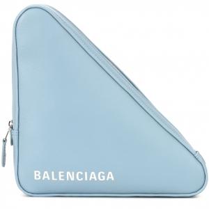 BALENCIAGA Triangle clutch