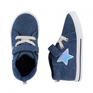 OshKosh Star Mid-Top Sneakers
