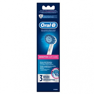 $6 off Oral-B Sensitive Gum Care Electric Toothbrush Replacement Brush Heads, 3ct @ Amazon