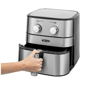 Bella 5.3-qt. Stainless Steel Air Fryer