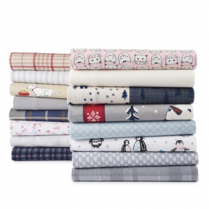 Cuddl Duds Flannel Sheet Set or Pillowcases, Twin Set