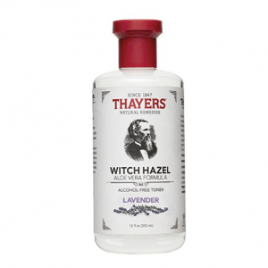 Thayers Alcohol-Free Lavender Witch Hazel Toner with Aloe Vera, 12 ounce bottle