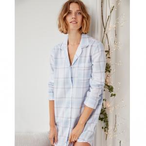 Brushed Cotton Check Nightshirt