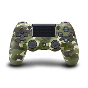 DualShock 4 Green Camouflage Controller - PlayStation 4 Green Camouflage Edition