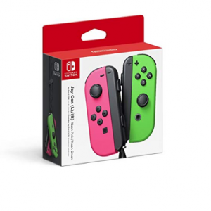 SWITCH CONTROLLERS NEON PINK/NEON GREEN NINTEN - Left and Right Edition