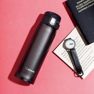 Amazon美亚:象印 SM-SD48BC 不锈钢真空保温杯 480ml 黑色