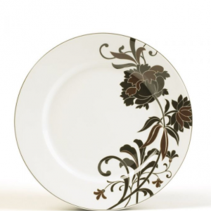 Accent Plate, Peony