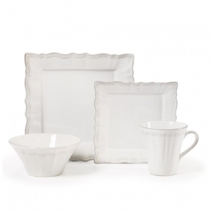 Square 4 Piece Place Setting