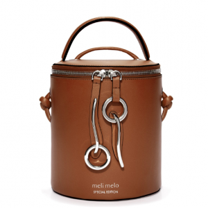 Severine   Bucket Bag   Almond