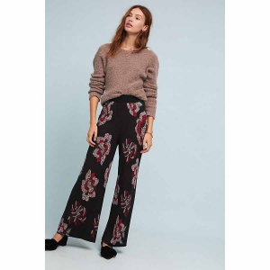 Floral Sweater Pants