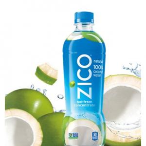 ZICO Natural 100% Coconut Water Drink, No Sugar Added Gluten Free, 16.9 fl oz, 12 Pack