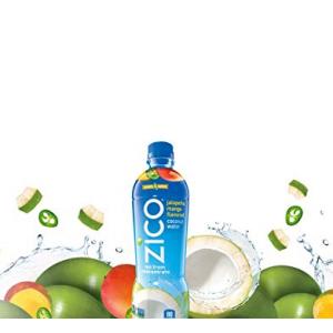 ZICO Jalapeno Mango Coconut Water Juice Drinks, 16.9 fl oz, 12 Pack