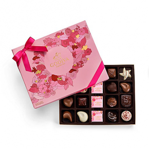 Valentine's Day Assorted Chocolate Gift Box, 20 pc.