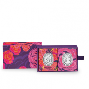 Diptyque Centifolia and Damascena Candles Gift Set, 2 x 2.5 oz / 70 g