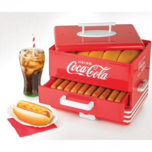 $32.99 Nostalgia HDS248COKE Large Coca-Cola® Hot Dog Steamer @ Walmart