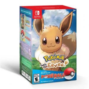 Pokemon: Let's Go Eevee! Poke Ball Plus Bundle @ Target