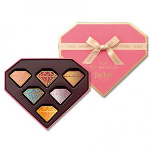 [デルレイ]ダイヤモンドBOX6個