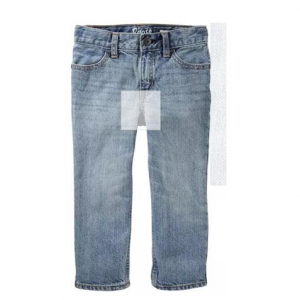 Straight Jeans - Sun Faded Light Wash
