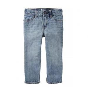 男童浅色直筒牛仔裤