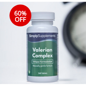 60% OFF Valerian Complex Tablets @Simply Supplements