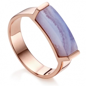 Linear Stone Ring