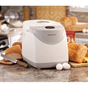 Hamilton Beach HomeBaker 2 Pound Automatic Breadmaker with Gluten Free Setting Model#29881@Walmart