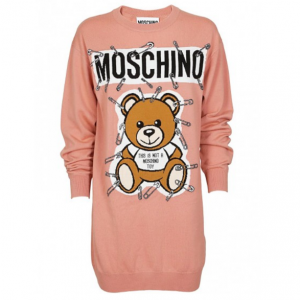 Moschino Sweater Dress in Pink
