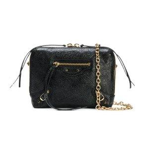 BALENCIAGA classic black reporter bag