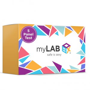 15% OFF Safe Box – 5 Panel Home STD Test Pack @myLab Box
