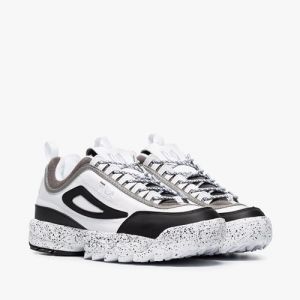 Liam Hodges Fila Disruptor Leather And Neoprene Sneakers
