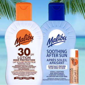 Up to 30% off Malibu Sun Protection @ Chemist Direct