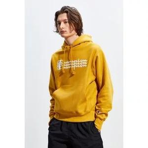 Champion UO Exclusive Triple Script Reverse Weave Hoodie Sweatshirt