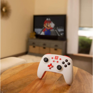 PowerA Enhanced Wireless Controller for Nintendo Switch - White - Nintendo Switch @ Amazon