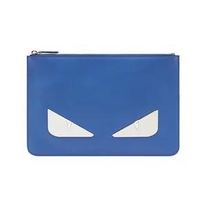 FENDI Eyes zipped pouch
