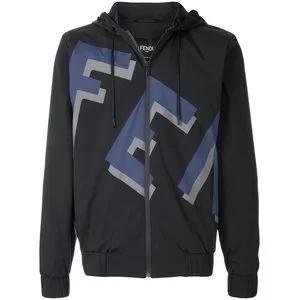 FENDI logo zipped jacket