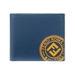 FENDI logo patch bi-fold wallet