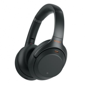 $299.99 for Sony WH1000XM3 Bluetooth Wireless Noise Canceling Headphones, Black WH-1000XM3/B