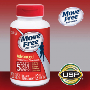 $20.99 (Was $29.89) For Schiff Move Free Advanced, 200 Tablets @ Costco