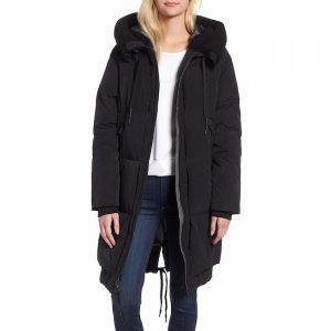 Cole Haan Peach Touch Long Down Jacket