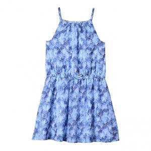 Bright Blue Shell Sleeveless Dress - Toddler & Girls