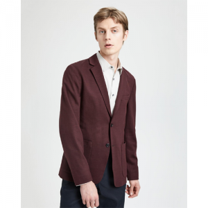 Wool Interlock Clinton Jacket