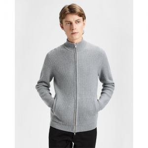 Merino Wool Zip Sweater