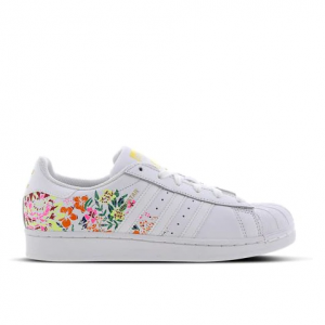 adidas Superstar Flower Embroidery - Women Shoes