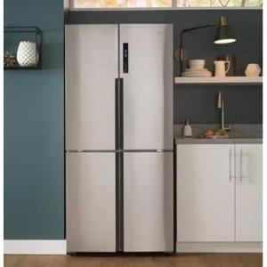 Haier  HRQ16N3BGS 33 Inch 4-Door Counter Depth French Door Refrigerator