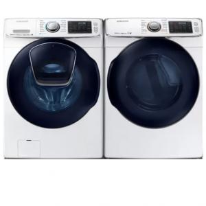 Samsung  SAWADREW19 Side-by-Side Washer & Dryer Set